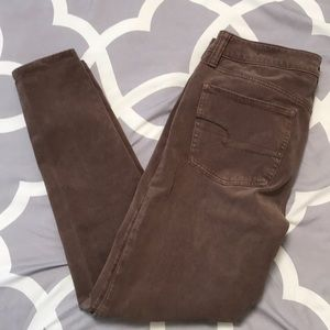 American Eagle Outfitters AEO sateen jegging